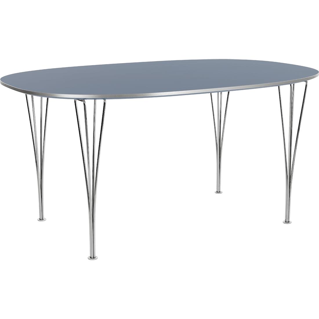 Fritz Hansen Super-ellipse spisebord, Timm Møbler