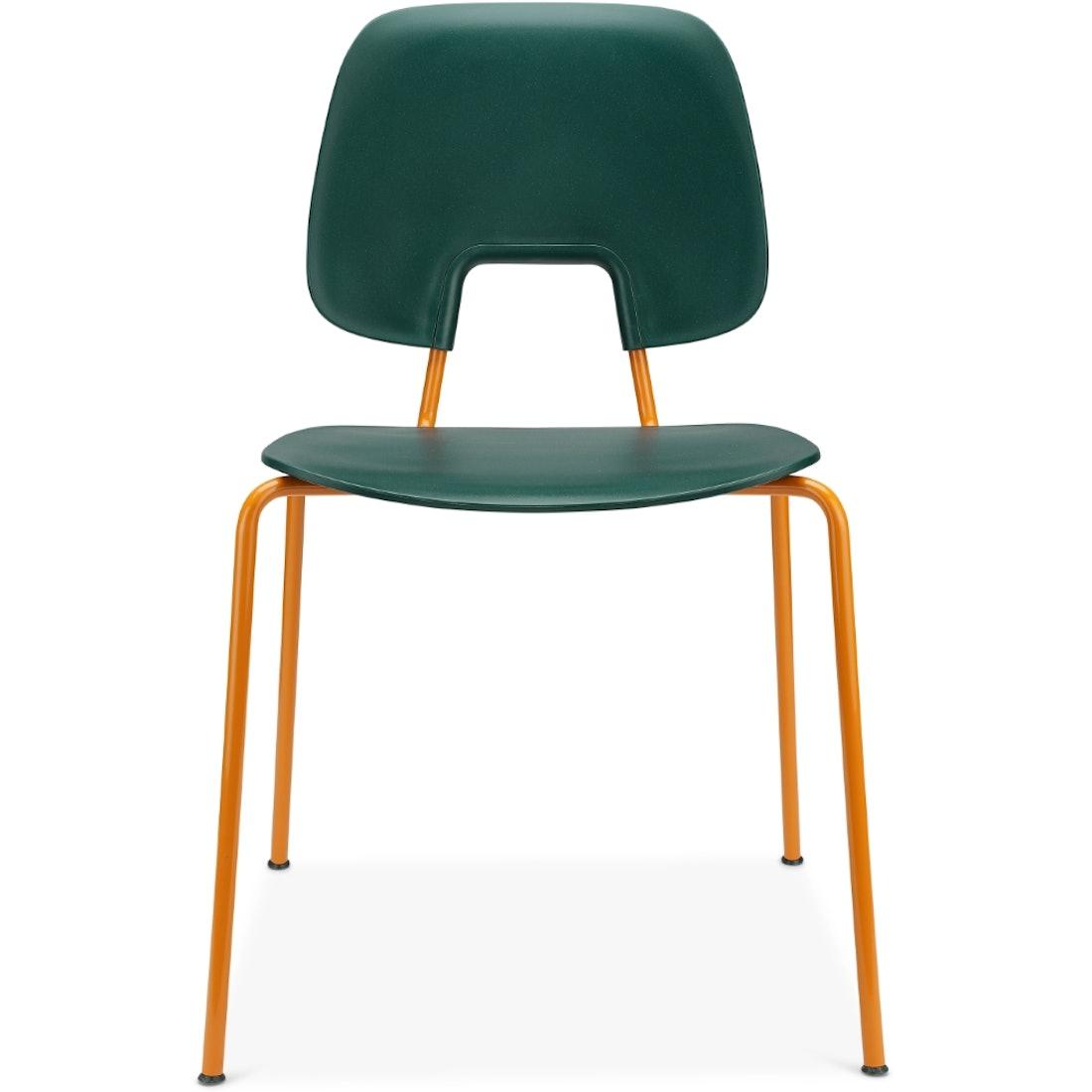 Wehlers R.U.M spisebordsstol, orange, Timm Møbler
